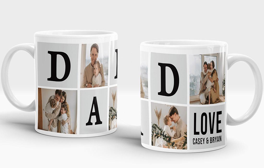 Dad Love Mug Design