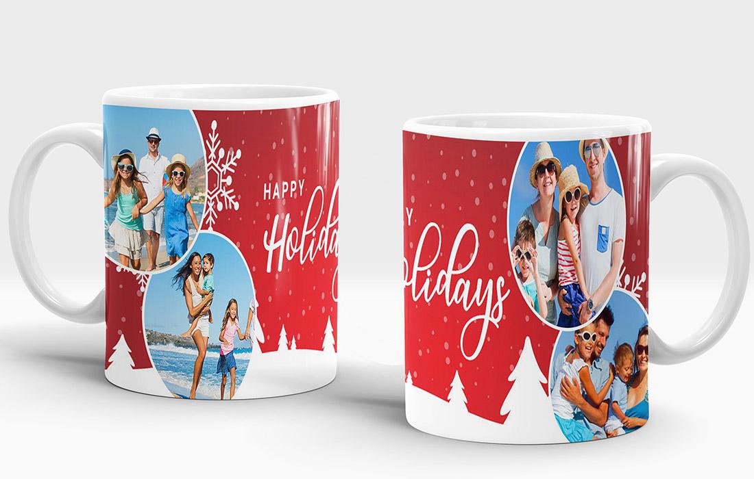 Happy Holiday's 2 Mug Design