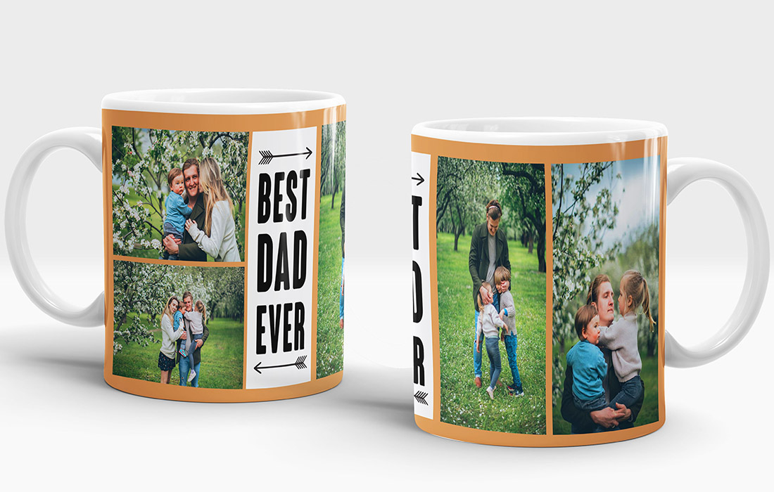 Best Dad Ever Mug Design