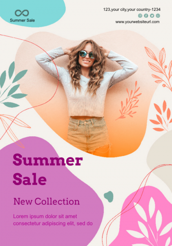 Summer Collection Fashion Flyer (6.25x9)
