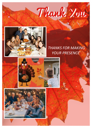 Thank You Giving Photo Collage (5x7)