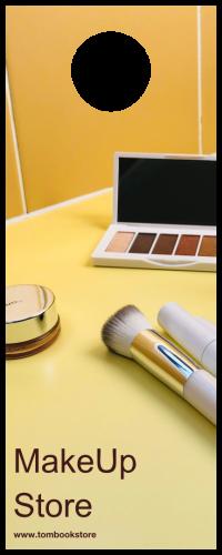 Makeup Store Door Hanger (4.25x11)