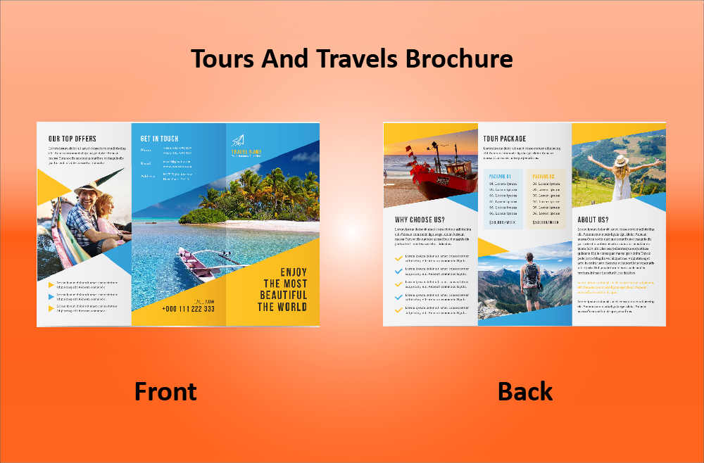 Tour and Travel Brochure 06 (11.69x8.26)