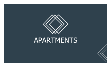 Apartments Business Card (3.5x2)