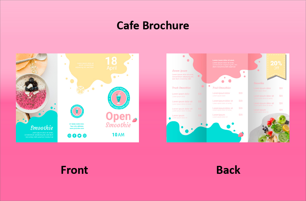 Opening Cafe Brochure (11.69x8.26)