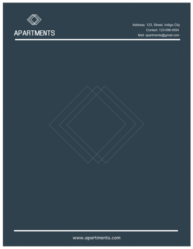 Apartments Letterhead (8.5x11)