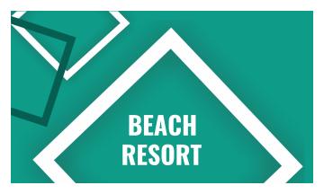 Resort Business Card (3.5x2)