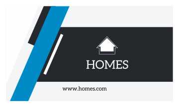 Homes Business Card (3.5x2)