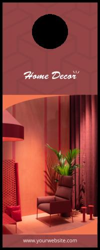 Home Decor Door Hanger (4.25x11)