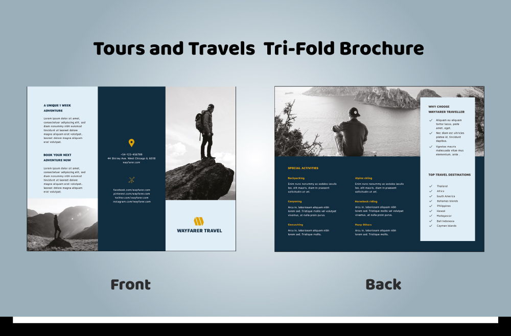 Tour and Travel Brochure 03-05 (11.69x8.26)