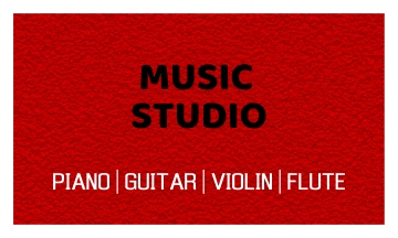 Music Business Card (3.5x2)