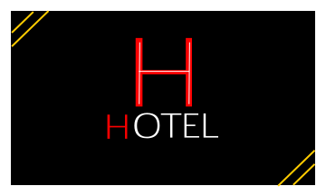 Hotel Business Card (3.5x2)