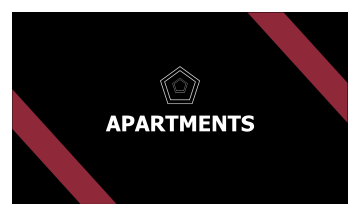 Apartment Business Card (3.5x2)