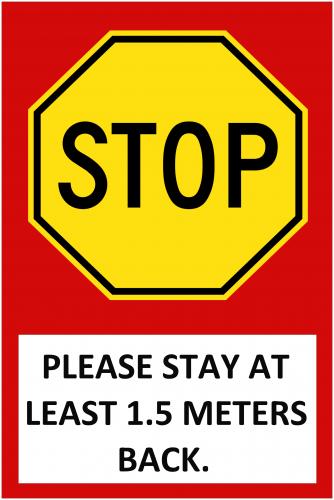 Stop Sign (24x36)