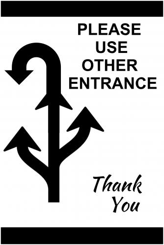 Entrance Sign (24x36)