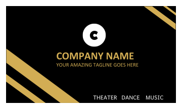 Company Name Business Card (3.5x2)