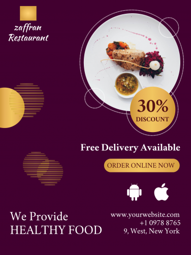 Restaurant Poster - 48 (18x24)