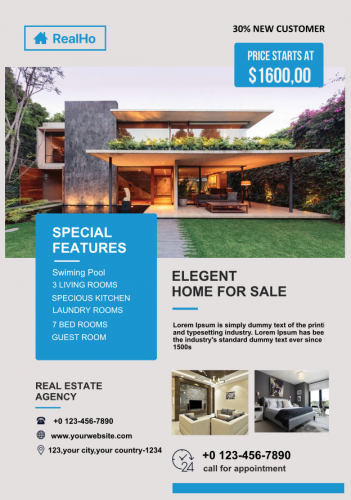 Realestate Business Flyer 2 (6.25x9)