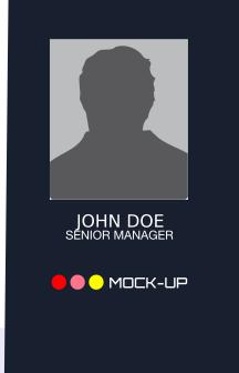 Mock Up ID Card