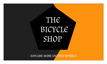 The Bicycle Shop Business Card (3.5x2)