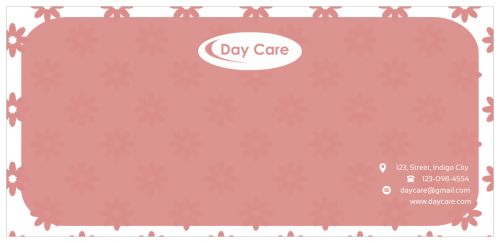 Day Care Envelope (9.5x4.5)