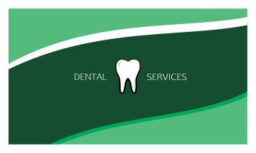 Dental Services Business Card (3.5x2)