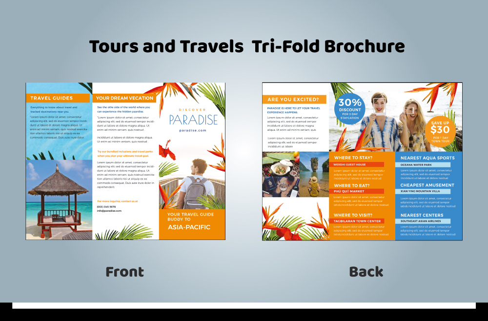 Tour and Travel Brochure 02-05 (11.69x8.26)